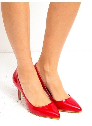 Mecrea Stiletto Kırmızı